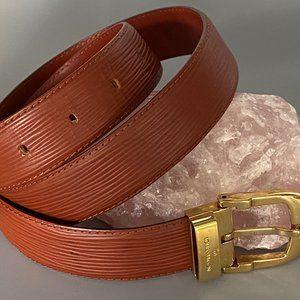 Louis Vuitton Epi Leather Belt